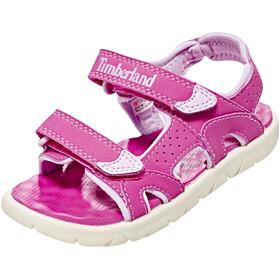 Timberland Perkins Row 2-Strap Lapset sandaalit , vaaleanpunainen